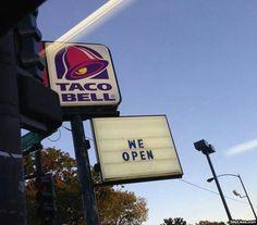 Haha taco bell