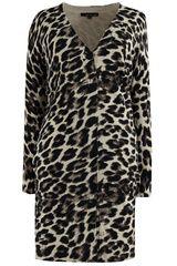 Les Amies - lang vest met dierenprint #panterprint #luipaardprint #leopardprint #fall16 #winter17 #fashion #trends