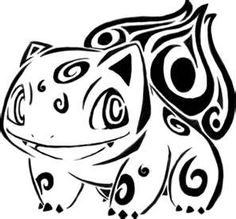 Pokemon tribal tattoo