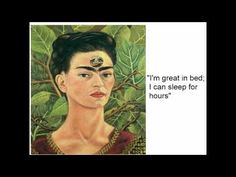 ▶ A Frida Kahlo Biography - YouTube - skip first part
