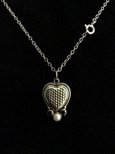 925 sterling silver dainty necklaces heart pendant freshwater