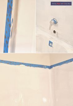 How to update an UGLY bathtub - Rustoleum tub and tile refinishing ...