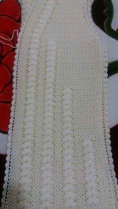 116 Grain Mesh Damen Weste Modelle All-In-One 95 … - gor det selv Lace Knitting, Baby Knitting Patterns, Knitting Stitches, Knitting Designs, Jacket Pattern, Top Pattern, Filet Crochet, Crochet Top, Hairpin Lace