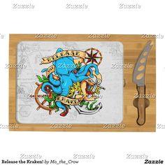 Release the Kraken! Cheese Board