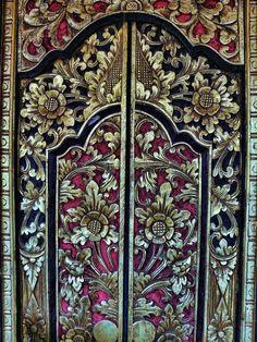 Balinese Door 2 by *letinhastock