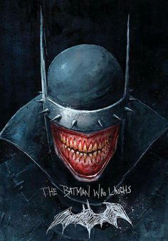 The Batman who laughs