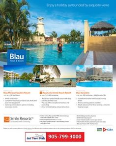 Blau Hotels & Resorts in Varadero & Holguin Cuba