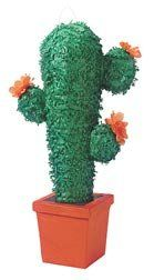 Cactus Pinata with Pull String Kit by Shindigz. $14.99. The candy in our Cactus Planter Pinata will have your guests kicking up their heels. Filled with ourá2 lb. bag of Pinata Filler.á25 inch h x 11 inch w. Pull-String Kit is included. Our 2 lb. bag of Pinata Filler contains 1.4 lb. of candy and .6 lb. of toys and trinkets. Not intended for use by children 3 and under.