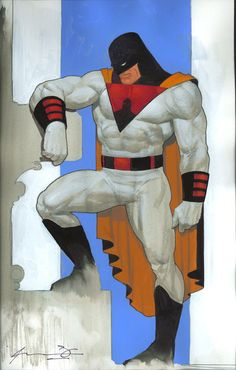 Space Ghost by Ariel Olivetti *