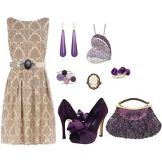 """Purple Passion"" by bethherrmann on Polyvore"
