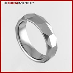 5.5MM SIZE 8 FACETED TUNGSTEN CARBIDE BAND RING R0917 Cheap Jewelry Online, Blue Diamonds, Tungsten Carbide, Pandora Bracelets, Band Rings, Rings For Men, Wedding Rings, Engagement Rings, Enagement Rings
