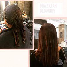 Brazilian Blowdry by Stacey at Midori.