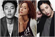 Ryu Joon Yul and Lee Soo Hyuk to compete for Hwang Jung Eum on Lucky Romance