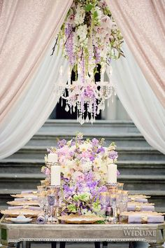 Lilac wedding flowers wedding decor | Deer Pearl Flowers