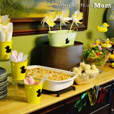 Architecture of a Mom: Fun Duck Birthday Theme Decorations