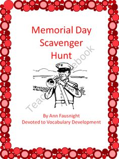 Memorial Day Scavenger Hunt .. i can make my own version