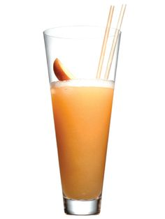 Frozen Bellini - perfect for brunch AND Saturday night drinks with the girls