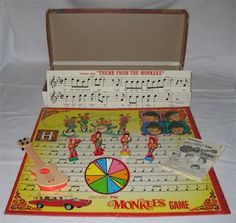 The Monkees Board game.