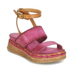 Cipők Női Szandálok / Saruk Airstep / A.S.98 LAGOS Rózsaszín