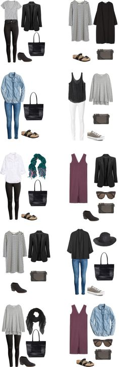 livelovesara - My life in a blog by Sara Watson. What to pack for Stockholm, Sweden in August. Outfits Options 2