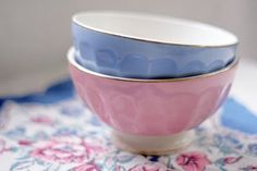french cafe au lait bowls SOLD