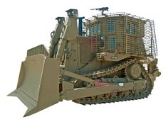 IDF Caterpillar D9R armored bulldozer used by the Israel Defense Forces Combat Engineering corps