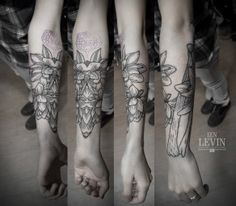 tatto by Vitaly Levin from Kiev