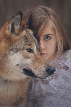 More Gorgeous Portraits of Women with Wild Animals by Katerina Plotnikova - My Modern Met