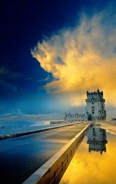 BELEM TOWER LISBON, PORTUGAL