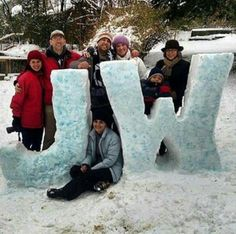 A rare snowstorm occurred in TN and instead of the traditional snowman these bros and sisters used this opportunity to advertise! Well done!