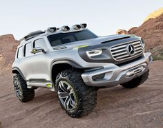 MB-G-Force @LA Auto Show: Los Angeles Auto Show Design Challenge warrants Mercedes-Benz's Ener-G-Force, an off-road CHiP vehicle for 2025.