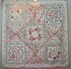 Brigitte Giblin version of Auntie Green quilt