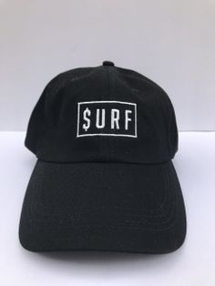 360df69193d8ba SURF DAD HAT WITH SURF LOGO STITCHED ON THE FRONT. 100% COTTON