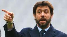 Earlier this month Agnelli was appointed president of the European Club Association  Juventus  president Andrea Agnelli has been banned for a year for his role in the  sale of match tickets to mafia-linked supporters' groups.  The  41-year-old was also fined 20000 euros (17600) while Juventus must  pay 300000 euros (264000) and three other club officials were banned. Agnelli  was accused of helping to sell tickets - later resold at a huge profit -  to 'ultras' fans some with alleged links to…