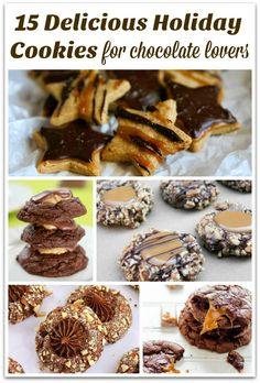 What could be better than Chocolate Holiday Cookies? I can resist a lot of desserts. Just ask my family! But when it comes to chocolate cookies? I'm in!