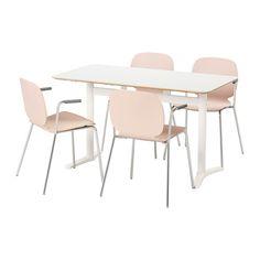 IKEA - BILLSTA / SVENBERTIL, Table and 4 chairs