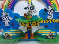 DECORACIONES INFANTILES: DOKI Party Themes, Birthday Cake, Rosario, Decorations, Manualidades, Birthday Cakes, Cake Birthday