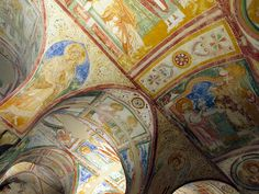 Aquileia, with its immense archaeological site and its Patriarchal Basilica, is an artistic and historical treasure trove. Located in Friuli-Venezia-Giulia (Udine Province),. Christian World, Byzantine Art, Italy Tours, Visit Italy, Northern Italy, Central Europe, Archaeological Site, Mural Painting, Roman Empire
