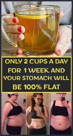 Only 2 Cups A Day For 1 Week And Your Stomach Will Be Flat – Results Guaranteed - Diet and Weight Loss - Lose Weight Quick Weight Loss Diet, Weight Loss Cleanse, Weight Loss Drinks, Losing Weight Tips, Healthy Weight, Weight Loss Workout Plan, Detox Water To Lose Weight, Healthy Foods, Water Weight
