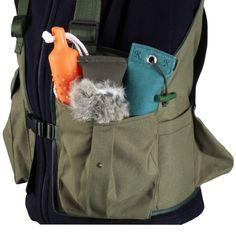 Romneys Dummyweste Jungla bedruckt  - Taschen & Rucksäcke - Für den Hund - ROMNEYS.de Backpacks, Bags, Fashion, Vest, Doggies, Taschen, Purses, Moda, Fashion Styles