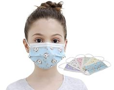Amazon.com : Emily Johnson 3-Layers Protective Kids Disposable Face Masks Multicolors Pink Green Yellow White Blue Purple with Puppy Pattern (30 pcs) : Beauty Pink And Green, Yellow, Blue, Face Masks, Layers, Puppies, Amazon, Pattern, Kids