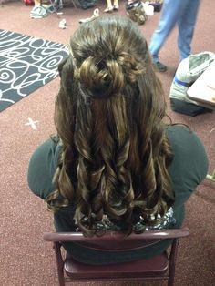 Longggggg curly hair