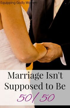 Is your husband's lack of effort driving you crazy? Don't wish for a 50/50 marriage. Aim for this instead.