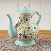 The Pioneer Woman Kari 2.4 Quart Tea Pot Image 1 of 2