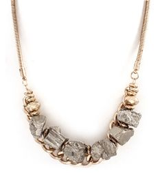 Nella Pyrite Necklace on Emma Stine Limited - like it...
