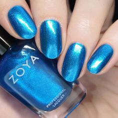 Rainy Days With Zoya >> Nail Polish Society