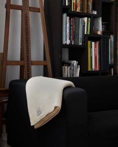 White Wool Blanket - MacAusland Woolen Mills - Nalata Nalata