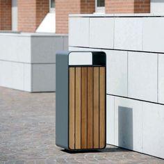 Box Litter Bin - Bailey Artform