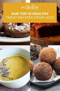 It's been a delicious year for healthy treats! Check out our top 10 healthy treat recipes on the blog for some tasty inspiration. Healthy Eating Habits, Healthy Treats, Yummy Treats, Chocolate Almond Bark, Chocolate Mint Cookies, Smart Snacks, Frozen Hot Chocolate, Pumpkin Spice Latte, Sweet Tooth