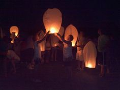 Wish Balloon Send Off at Mohican Valley relay For Life 2011 - The Times-Gazette